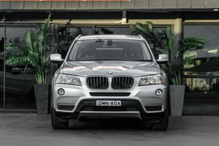 2011 BMW X3 F25 MY1011 xDrive20d Steptronic Silver 8 Speed Automatic Wagon.