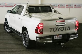 2020 Toyota Hilux GUN126R SR5 Double Cab Crystal Pearl 6 Speed Sports Automatic Utility