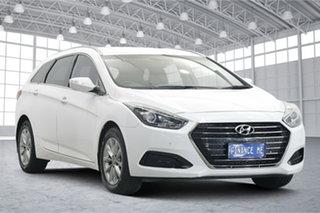 2016 Hyundai i40 VF4 Series II Active Tourer White 6 Speed Sports Automatic Wagon.