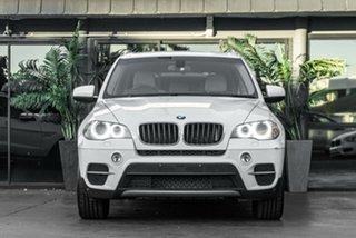 2010 BMW X5 E70 MY10 xDrive30d Steptronic White 6 Speed Sports Automatic Wagon.