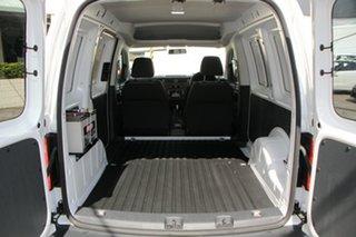 2018 Volkswagen Caddy 2KN MY19 TSI220 SWB DSG White 7 Speed Sports Automatic Dual Clutch Van