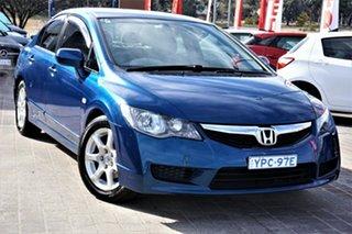 2009 Honda Civic 8th Gen MY10 VTi-L Blue 5 Speed Automatic Sedan.