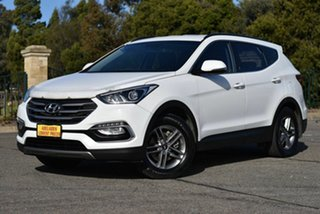 2016 Hyundai Santa Fe DM3 MY17 Active White 6 Speed Sports Automatic Wagon.