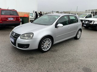 2008 Volkswagen Golf 1K MY08 Upgrade GT Sport TSI Silver 6 Speed Direct Shift Hatchback.