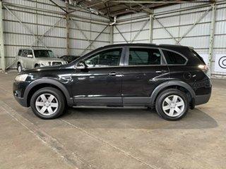 2012 Holden Captiva CG Series II MY12 7 SX Black 6 Speed Sports Automatic Wagon.