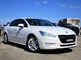 2013 Peugeot 508 Active White 6 Speed Sports Automatic Sedan.