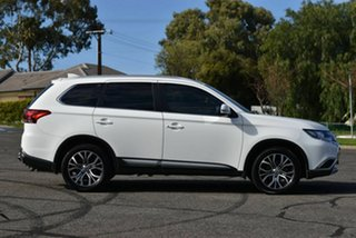 2017 Mitsubishi Outlander ZK MY18 LS AWD Safety Pack White 6 Speed Sports Automatic Wagon