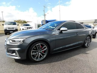 2017 Audi S5 F5 MY18 Tiptronic Quattro Grey 8 Speed Sports Automatic Coupe.