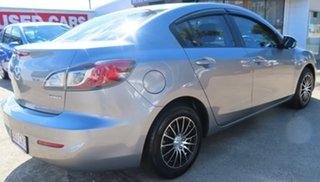 2011 Mazda 3 BL 10 Upgrade Neo Silver 6 Speed Manual Sedan.