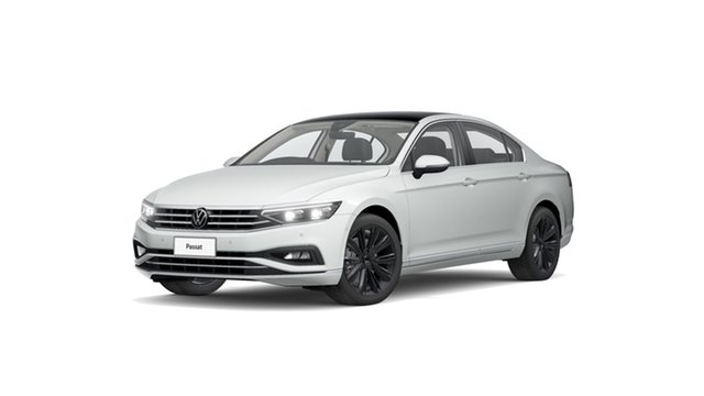 New Volkswagen Passat Elegance Hamilton, 2021 Volkswagen Passat Elegance Pure White 6 Speed Semi Auto Sedan
