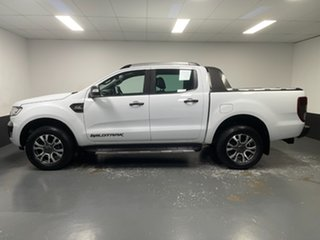 2018 Ford Ranger PX MkII 2018.00MY Wildtrak Double Cab Frozen White 6 Speed Sports Automatic Utility