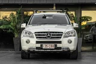 2010 Mercedes-Benz M-Class W164 MY10 ML300 CDI BlueEFFICIENCY White 7 Speed Sports Automatic Wagon.
