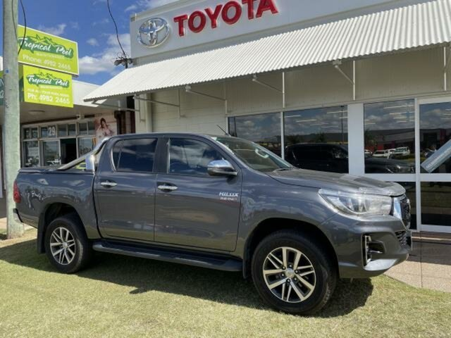 Pre-Owned Toyota Hilux GUN126R MY19 SR5 (4x4) Emerald, 2018 Toyota Hilux GUN126R MY19 SR5 (4x4) Graphite 6 Speed Automatic Double Cab Pick Up