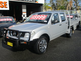 2011 Nissan Navara D40 ST (4x4) Silver 5 Speed Automatic Dual Cab Pick-up.