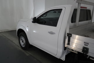 2019 Nissan Navara D23 S3 RX 4x2 White 6 Speed Manual Cab Chassis