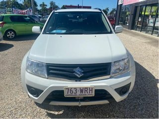2016 Suzuki Grand Vitara JT MY15 Navigator (4x4) White 4 Speed Automatic Wagon.