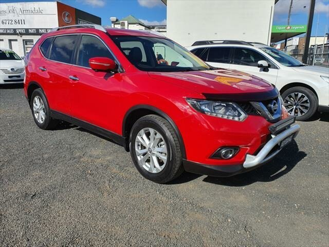Used Nissan X-Trail T32 ST-L X-tronic 2WD Armidale, 2015 Nissan X-Trail T32 ST-L X-tronic 2WD Red 7 Speed Constant Variable Wagon