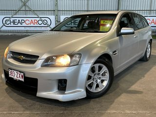 2009 Holden Commodore VE MY09.5 Omega Sportwagon Silver 4 Speed Automatic Wagon.