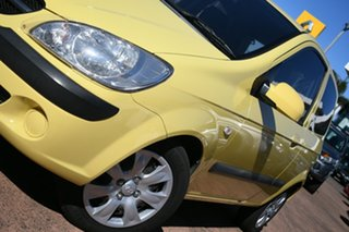 2010 Hyundai Getz TB MY09 S Yellow 4 Speed Automatic Hatchback.