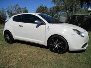 2012 Alfa Romeo Mito MY12 Progression White 6 Speed Manual Hatchback