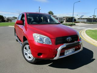 2007 Toyota RAV4 ACA33R CV (4x4) Red 4 Speed Automatic Wagon.