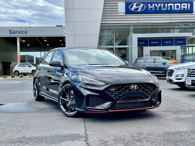 New Hyundai i30 Pde.v4 MY22 N D-CT South Melbourne, 2021 Hyundai i30 Pde.v4 MY22 N D-CT Phantom Black 8 Speed Sports Automatic Dual Clutch Hatchback