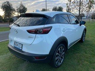 2019 Mazda CX-3 DK2W7A sTouring SKYACTIV-Drive FWD Snowflake White 6 Speed Sports Automatic Wagon