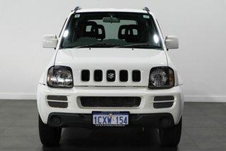 2008 Suzuki Jimny SN413 T6 White 4 Speed Automatic Hardtop.