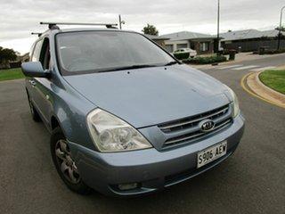 2007 Kia Grand Carnival VQ (EX) Blue 5 Speed Automatic Wagon.
