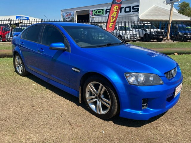 Used Holden Commodore VE MY09.5 SV6 Berrimah, 2009 Holden Commodore VE MY09.5 SV6 Blue 6 Speed Manual Sedan