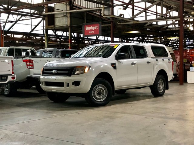 Used Ford Ranger PX XL Mile End South, 2012 Ford Ranger PX XL White 6 Speed Sports Automatic Utility