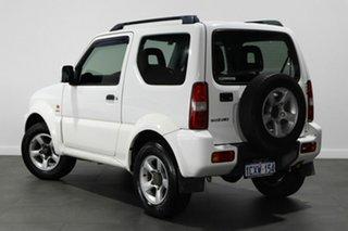 2008 Suzuki Jimny SN413 T6 White 4 Speed Automatic Hardtop