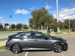 2017 Honda Civic 10th Gen MY17 VTi-S Grey 1 Speed Constant Variable Hatchback.