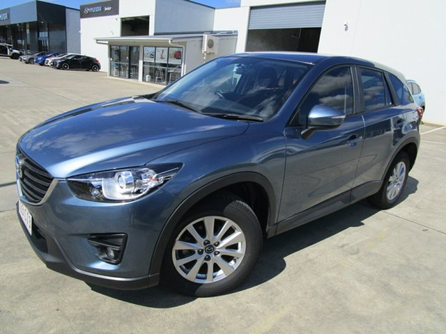 Used Mazda CX-5 KE1032 Maxx SKYACTIV-Drive AWD Sport Caboolture, 2015 Mazda CX-5 KE1032 Maxx SKYACTIV-Drive AWD Sport Blue 6 Speed Sports Automatic Wagon