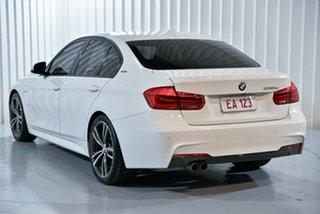 2016 BMW 3 Series F30 LCI 330e Sport Line White 8 Speed Sports Automatic Sedan Hybrid