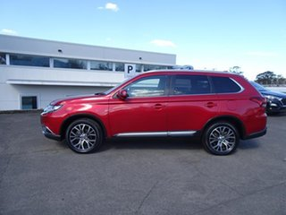 2017 Mitsubishi Outlander ZK MY17 LS 4WD Red 6 Speed Automatic Wagon