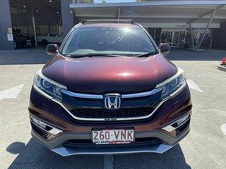2015 Honda CR-V RM Series II MY16 VTi-L 4WD Red 5 Speed Sports Automatic Wagon.