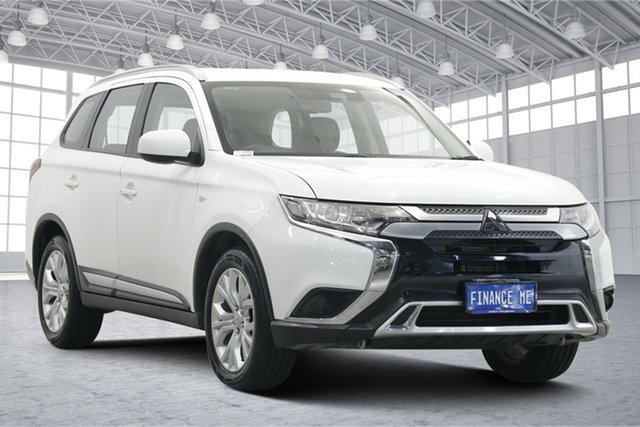 Used Mitsubishi Outlander ZL MY19 ES 2WD Victoria Park, 2019 Mitsubishi Outlander ZL MY19 ES 2WD White 6 Speed Constant Variable Wagon