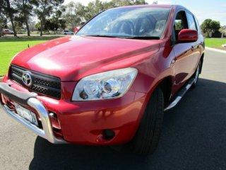 2007 Toyota RAV4 ACA33R CV (4x4) Red 4 Speed Automatic Wagon