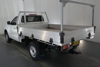 2019 Nissan Navara D23 S3 RX 4x2 White 6 Speed Manual Cab Chassis.