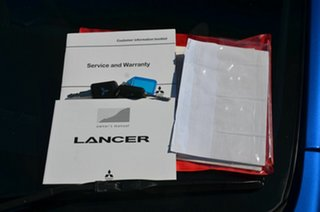 2016 Mitsubishi Lancer CF ES Sport Blue 6 Speed CVT Auto Sequential Sedan
