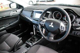 2016 Mitsubishi Lancer CF MY16 ES Sport Black/Grey 5 Speed Manual Sedan