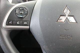 2017 Mitsubishi Triton MQ MY17 GLX+ Double Cab Black 6 Speed Manual Utility