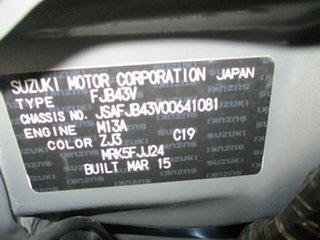 2015 Suzuki Jimny SN413 T6 Sierra Black 4 Speed Automatic Hardtop