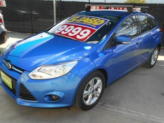 2013 Ford Focus LW MkII Trend Blue 5 Speed Manual Hatchback.