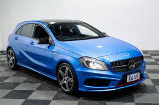2015 Mercedes-Benz A-Class W176 805+055MY A250 D-CT Sport Blue 7 Speed Sports Automatic Dual Clutch
