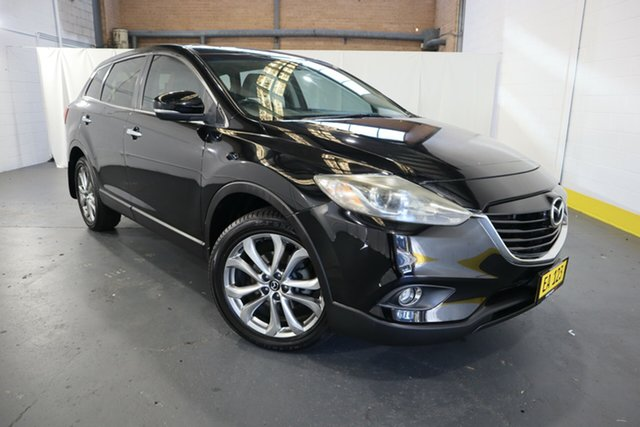 Used Mazda CX-9 TB10A5 Luxury Activematic AWD Castle Hill, 2013 Mazda CX-9 TB10A5 Luxury Activematic AWD Black 6 Speed Sports Automatic Wagon