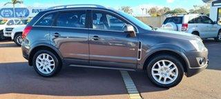 2013 Holden Captiva CG Series II MY12 5 Black 6 Speed Manual Wagon
