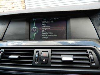 2012 BMW 5 Series F10 MY0911 520d Steptronic Black 8 Speed Sports Automatic Sedan