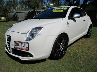 2012 Alfa Romeo Mito MY12 Progression White 6 Speed Manual Hatchback.